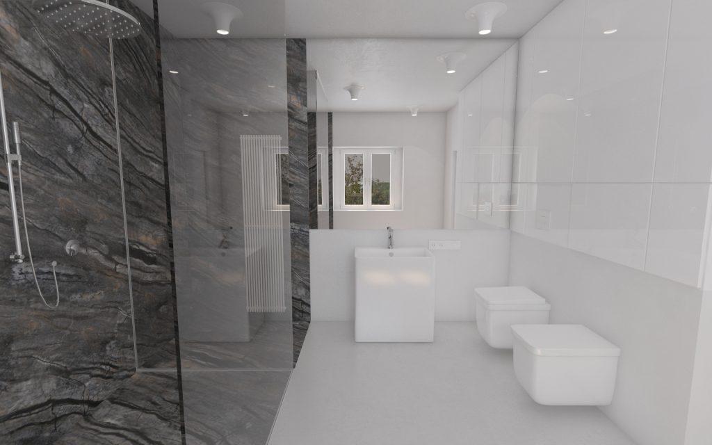 rozbudowa, przebudowa, łazienka, kamień