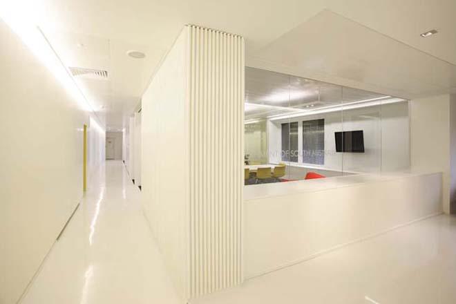 projekt wnetrza biura hol