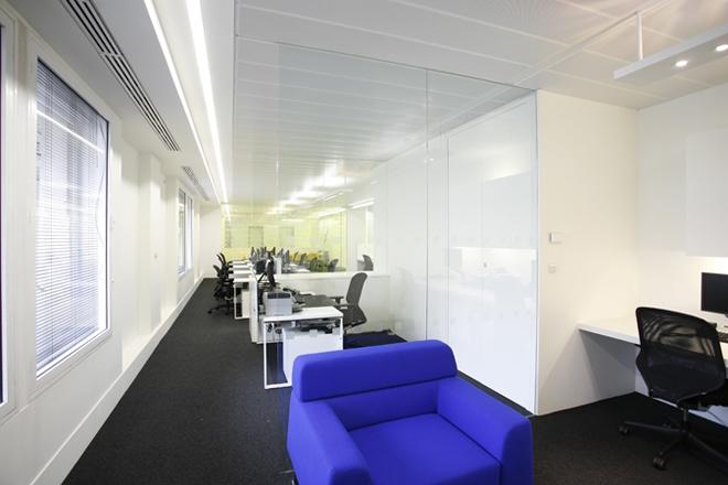 projekt wnetrza biura gabinet