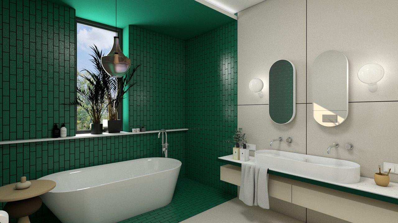 wanna-i-umywalka-w-lazience-w-kolorach-zieleni-i-bezu