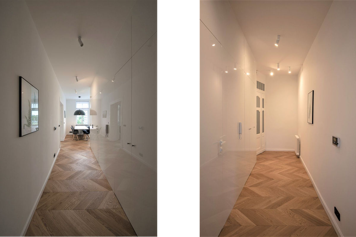 projekt-wnetrza-widok-na-hol-w-mieszkaniu-drewniany-parkiet