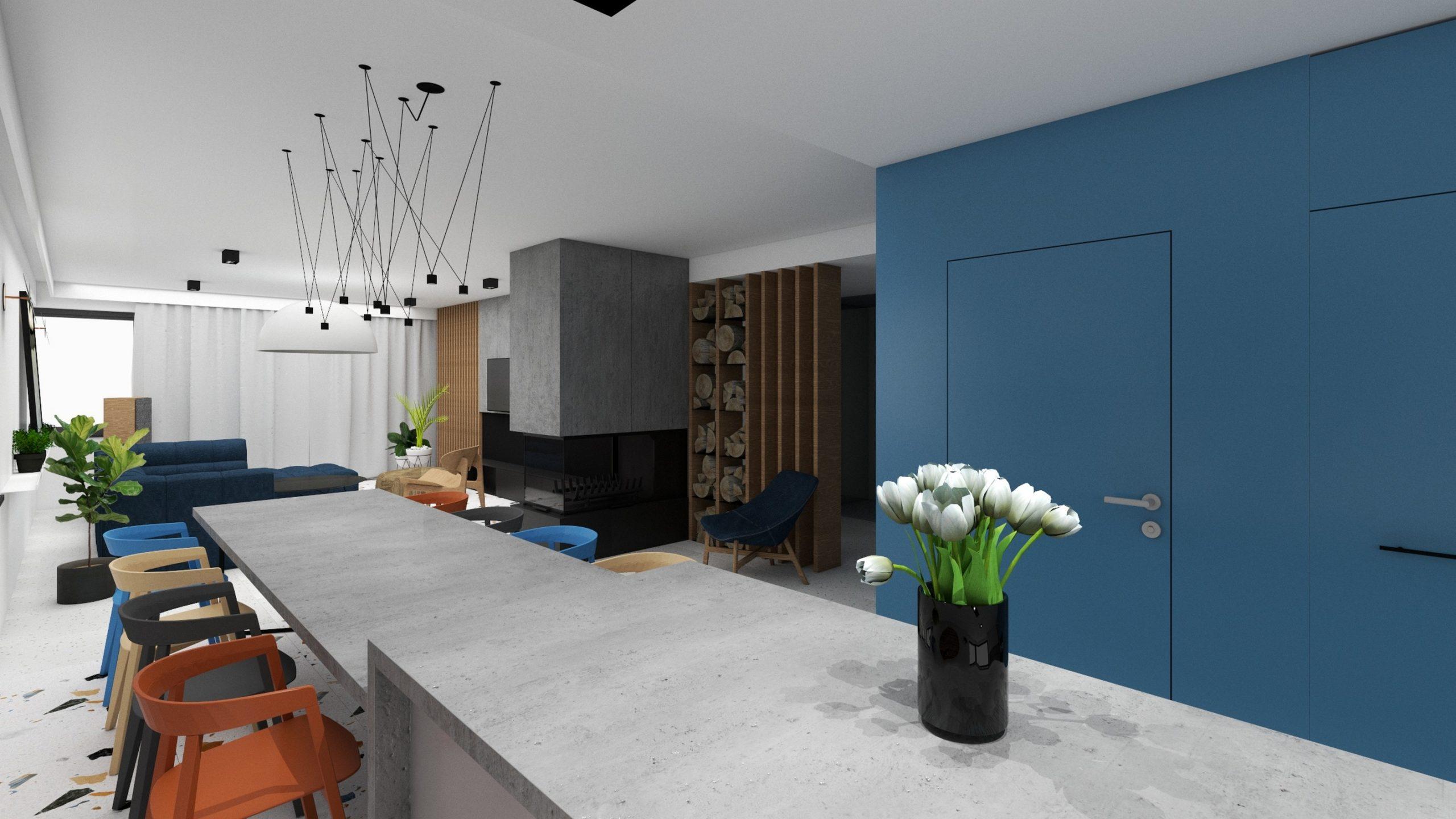 widok-z-kuchni-na-salon