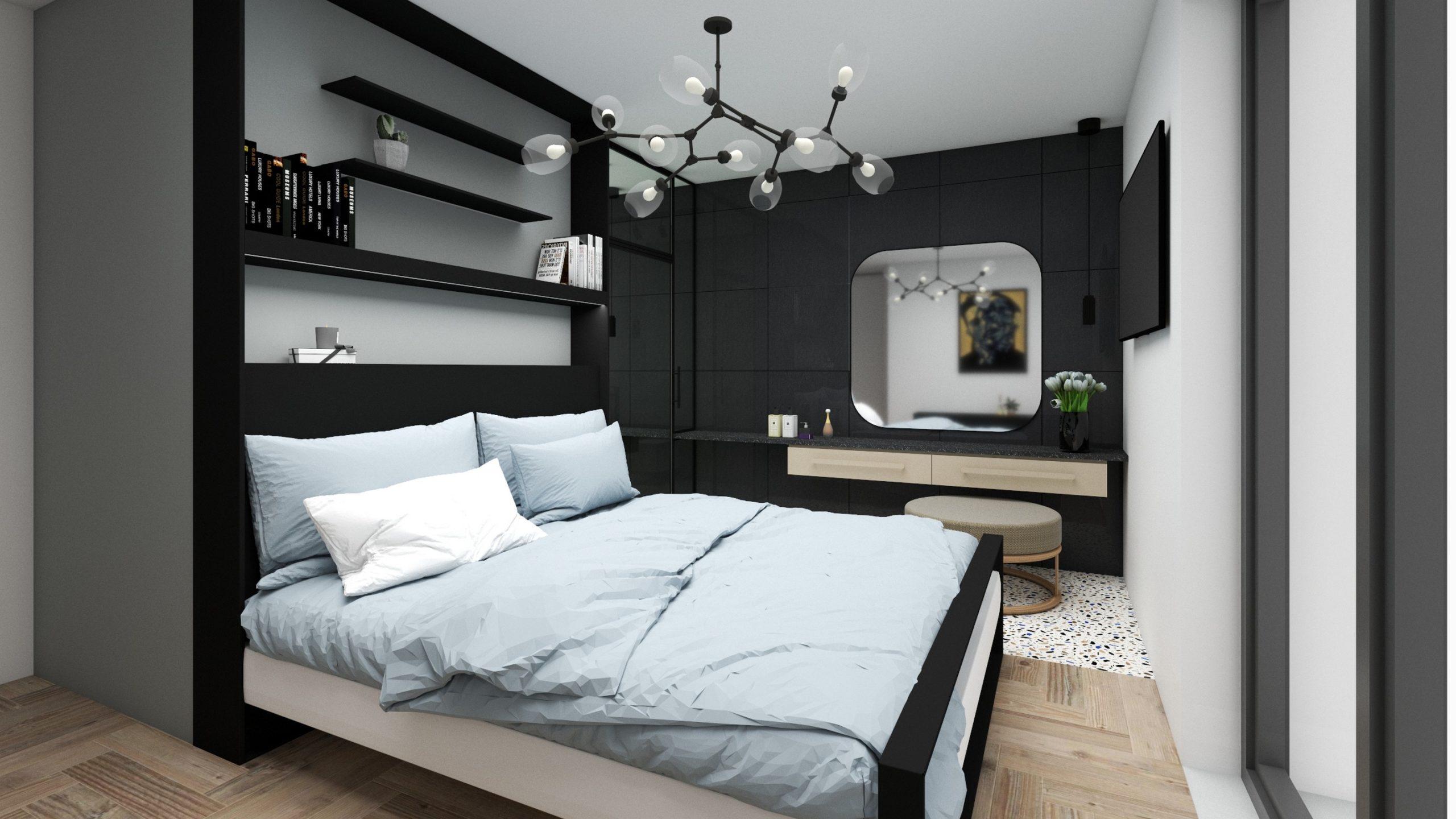 widok-sypialni-w-odcieniach-czerni-i-bieli